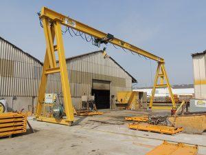portique roulant levage, fabricant portique manutention