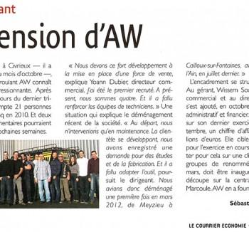 AW Dans La Presse